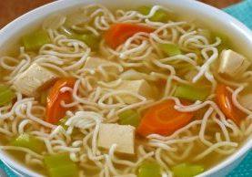 Zero Noodle Chicken Noodle Soup